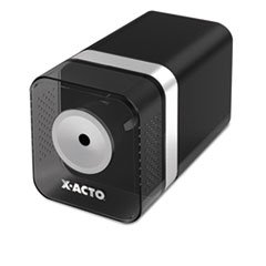 ** Heavy-Duty Desktop Electric Pencil Sharpener, Black **