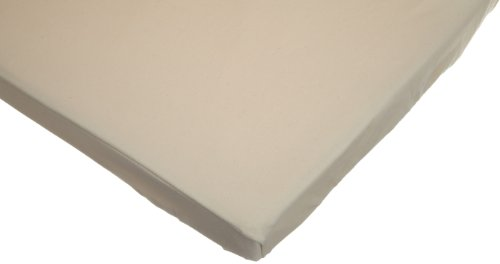 American Baby Company 100% Organic Cotton Interlock Fitted Pack N Play Sheet, Natural