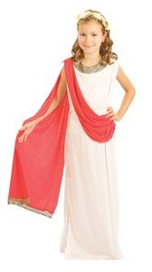 New Roman Greek Goddess. Children's fancy dress