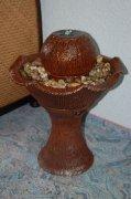 Fontaine, vase céramique, pompe W2 incluse (19598)