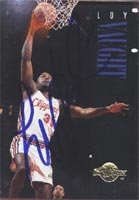 Loy Vaught Los Angeles Clippers 1994 Skybox Autographed Hand Signed Trading Card. by Hall of Fame Memorabilia
