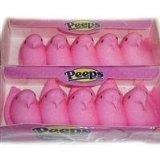 Marshmallow Chicks Pink Peeps 10 CT (4 packs)