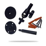 In/Out Camera Mounting Kit For Logitech Alert 750I, 750E & Speaker System Z906