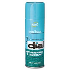 ** Scented Anti-Perspirant & Deodorant Crystal Breeze 4oz Aerosol