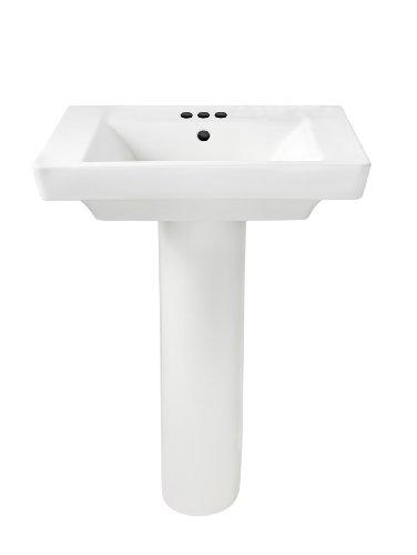 Best Price! American Standard 0641.400.020 Boulevard Pedestal 4-Inch Counter, White