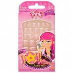 French Diva 12 Pre-glued Nail Set from Abella