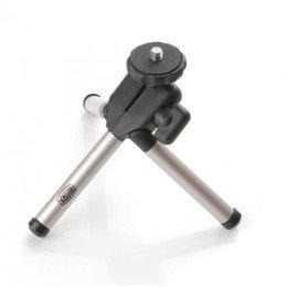Bilora Ministativ / Mini Pod / Tripod Kleinstativ 1004 passend f&#252;r alle g&#228;ngigen Kameramodelle, wie Canon Powershot S100 A3300IS A4000IS - Ixus 115HS 125HS 230HS 1100HS - Casio EX ZS10 - Nikon Coolpix L22 L23 L25 L26 S630 S3300 S4150 S4300 S5100 S6100 S6150 - Panasonic Lumix DMC FS10 FS16 FS18 FS22 FS25 FS28 FS35 FS37 FS40 FS42 FS45 SZ1 SZ7 - Sony Cybershot TX9 TX10 TX20 TX100 WX10 W510 W520 W620 W670 W690 Samsung ES75 ES80 PL20 PL80 - Casio Z9 Z35 Z150 Z250 Z300 Z330 Z350 Z400 Z450