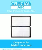 Crucial Air 1 Idylis HEPA Air Purifier Filter, Fits Idylis Air Purifiers IAP-10-280 and Model No.IAF-H-100D