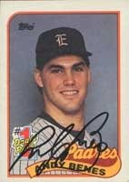 Andy Benes San Diego Padres 1989 Topps Autographed Hand Signed Trading Card -... by Hall+of+Fame+Memorabilia