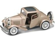 1932 Ford 3 Window Coupe Gold 1:18 Diecast Car Model (1932 Ford 5 Window Coupe compare prices)