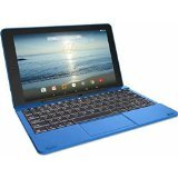 """RCA Viking Pro 10.1"""" 2-in-1 Tablet 32GB Quad Core Blue Laptop Computer with Touchscreen and Detachable Keyboard Google Android 5.0 Lollipop l"""