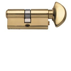 Rockwell 90 Degree Solid Brass Euro Profile Cylinder Lock