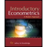 img - for Introductory Econometrics A Modern Approach by Wooldridge, Jeffrey M. [Cengage,2008] (Hardcover) 4th Edition book / textbook / text book