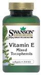 Vitamin E Mixed Tocopherols 200 Iu 100 Sgels By Swanson Premium