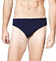 XXXL Blue Harbour Piped Swim Briefs