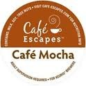 Cafe Escapes -- CAFE MOCHA -- 24 K-Cups for Keurig Brewers