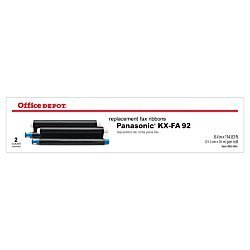 Office Depot(R) Brand 1030 (Panasonic Kx-Fa92) Thermal Fax Ribbons, Pack Of 2