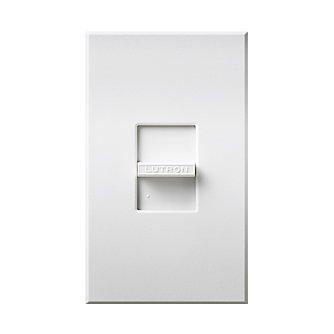 Lutron N-1PS-WH Nova Wall Light Switch Single-pole Slide 120V/277V 20A, White