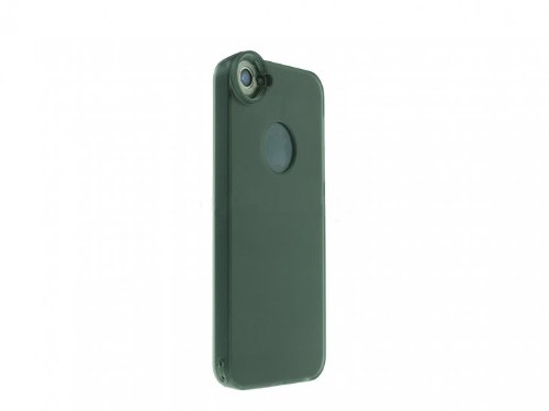 System-S Hard Case Back Cover With Optical Macrolens 1.5X Zoom For Iphone 5