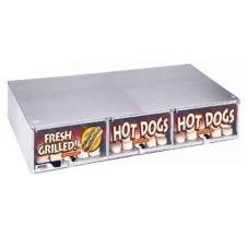Apw Wyott Fresh Grilled Hot Dog Unheated Stainless Steel Bun Cabinet, 6 3/8 X 34 11/16 X 18 5/8 Inch -- 1 Each.