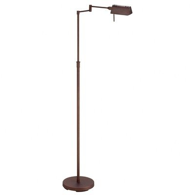 Black friday dainolite dlha654f obb adjustable height for Halogen floor lamp amazon