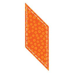 Accuquilt Go! Fabric Cutter Die 3.75 x 3.5 Inch Paralle