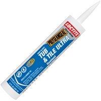 Loctite 1509356 Polyseamseal Tub and Tile Ultra Sealant Caulk, 10-Ounce Cartridge, White