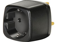 Brennenstuhl Travel Mains Plug EU to GB Earthed Adapter