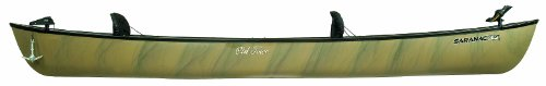 Old Town Saranac 146 XT Angler Recreational Fishing Canoe with Padded Seats, Camo, 14-Feet 6-Inch