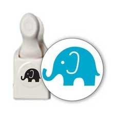 Martha Stewart Crafts Double Embossed Punch, Elephant