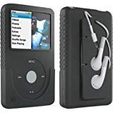 DLO Jam Jacket with Cord Management for the 80/120 GB iPod classic 6G (Black) (Bulk Pack) (Color: Black)