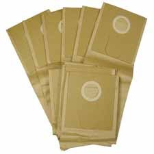 Oreck : Replacement Bags, For Xl Pro14, 10/Pk, Tan -:- Sold As 2 Packs Of - 1 - / - Total Of 2 Each front-640871