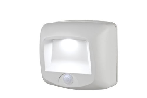 Mr. Beams MB 530 Battery Powered Motion Sensing LED Step Light, White