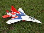 MIG-29 3D EDF Jet w/Gyro RC ARF Aircraft