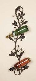 Bombay Jewel 99506 Benzara Metal Wine Rack Bottle Holder (Wall Decor Wine Rack compare prices)