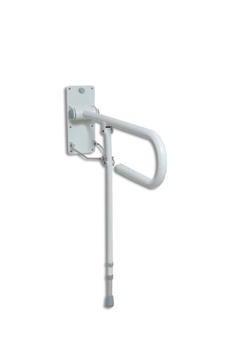 Standard Folding Support Rail with Leg for Bathroom/Toilet