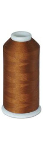 12-cone Commercial Polyester Embroidery Thread Kit - Mahogany MD P840 - 5500 yards - 40wt