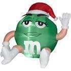 Green M&M Christmas 5 Ft. Tall Airblown Inflatable