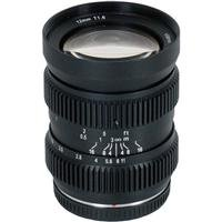 SLR Magic HyperPrime Cine 12mm T/1.6 Lens for Micro Four Thirds Cameras with Built-in Lens Gear