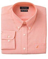 mens-shirt-nautica-designer-luxury-pure-cotton-rrp-55-tibetan-orange-vintage-oxford-button-down-coll