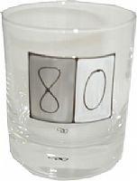 Bicchiere da whisky, idea regalo compleanno 80