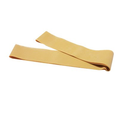 Cando 10-5267 Band Exercise Loop - 15 Inch Long - Gold - XXX