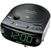 Sony ICF-CD815 AM/FM Stereo CD Clock Radio with Dual Alarm