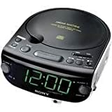 Sony ICF-CD815 AM/FM Stereo CD Clock Radio with Dual Alarm (Discontinued by Manufacturer) ~ Sony