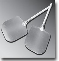 "12"" x 12"" x 10"" Aluminum Pizza Peel by P.A. Products"