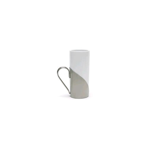 Front Of The House Dmu002Whp22 9.5 Oz. White Mug With Holder - 6 / Cs