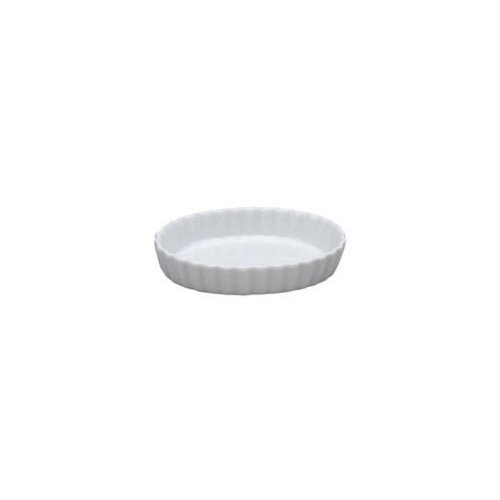 Cheap Vertex Market Buffet White Oval 7 Oz Fluted Quiche Dish – Case = 36 (ARG-OQ6)
