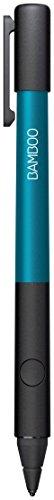 Wacom CS-600C1B Bamboo Stylus Fineline 2 Penna Attiva per iPad, Punta Extra Fine, 1.9 mm, Blu