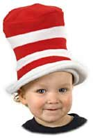 Toddler Dr Seuss Cat in Hat Hat