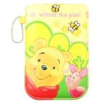 Lovely Cartoon Soft Leather Pouch Pocket Case For Iphone 4 3G/3Gs-Winnie The Pooh front-869318